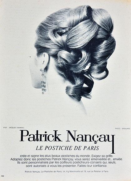 Affiche Le Postiche de Paris - Patrick Nancay